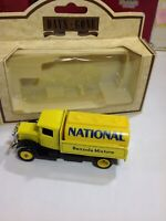 "Lledo Days Gone 1934 Mack Tanker National Benzole Gas Truck 3.5"" Diecast Model"