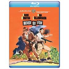 Never So Few 1959 (Blu-ray) Frank Sinatra, Gina Lollobrigida, Steve McQueen New!