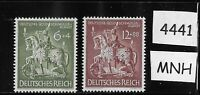 MNH full stamp set / Dresden Goldsmiths society / 1943 WWII Germany  Third Reich