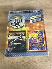 Thunder Brigade & Super Bubsy Original BIG BOX Fast Post - NEW & SEALED!