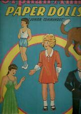 ORPHAN ANNIE 1943 ORIGINAL UNCUT SAALFIELD 299