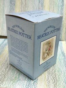 Beatrix Potter Head Gardener BP11a rare Beswick Guinea Pig mint in Box, gorgeous