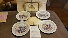 Lafayette Legacy D'arceau Limoges Set -4 Plates w/ receipt & certificate