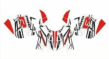 POLARIS GRAPHIC rush PRO R 600 RMK terrain dominator decals WRAP KIT 120 144 155