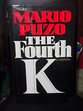 The Fourth K by Mario Puzo (1990, Hardcover)