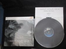 George Michael I Want Your Sex Japan 12 inch Vinyl Single w Top OBI Shrink Wham