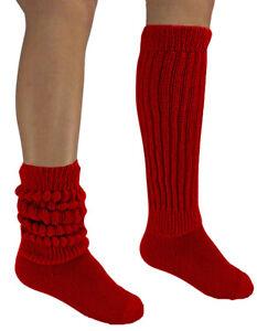 Women Men Heavy Workout Exercise Slouch Socks 8-11 Hooters Uniform School Flaws