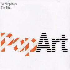 Popart: The Hits 1985-2003 by Pet Shop Boys (CD, Nov-2003, Parlophone)