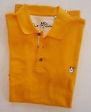 Men's NEW NWOT XS Yellow Robert Graham Devil Polo Shirt