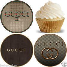 Gucci Designer Tortenaufleger Tortenbild Muffin NEU Dekoration Party Cupcake