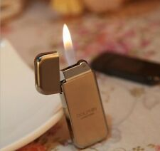 Windproof Buntane Gas Refillable Ultra Thin Smoking Cigar Cigarette Lighter AU76
