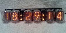 6 cifre IN-12 NIXIE CLOCK, 2 allarmi