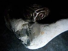 Wmm-schlaraffia-uhu-Hibou - 935-Argent-ring-GRENAT - yeux - 1980-90