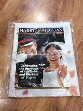 PRINCE HARRY & MEGHAN ROYAL WEDDING Colour Souvenir Magazine THE SUN Newspaper
