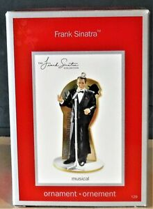 Frank Sinatra American Greetings 2008 ORNEMENT  Harlequin Carlton cards style