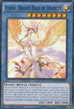 3 X YUGIOH CARD VENNU BRIGHT BIRD OF DIVINITY MACR-EN097 1ST EDITION