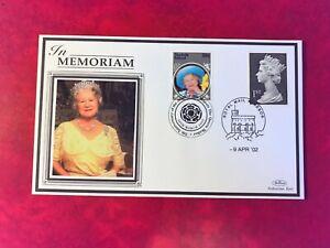 NORFOLK ISLAND 2007 FDC BENHAM QUEEN MOTHER IN MEMORIAM # RARE # ROYALTY