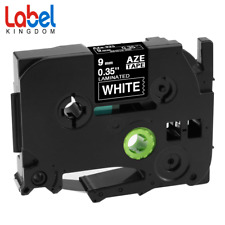 TZ TZe325 Label Tape Compatible for Brother P-touch PT-P700 9mm White on Black