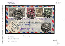T278a 1955 Chile GB Manchester Banking Registration