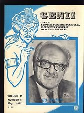 Ed Mishell Genii Magicians Magazine May 1977 - contents in post