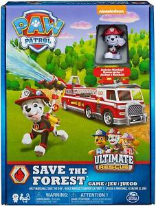 Paw Patrol Save the Forest Board Game