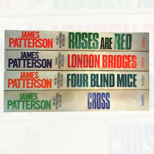 James Patterson Alex Cross 4 Books Set Pack Roses are Red , London Bridges NEW