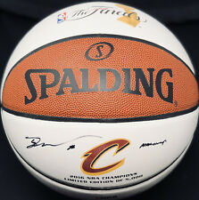 Cavaliers TRISTAN THOMPSON Signed Autographed NBA Championship Basketball COA!