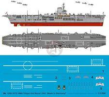 Peddinghaus 1/1250 HMS Ark Royal British Aircraft Carrier Markings '41 WWII 3275