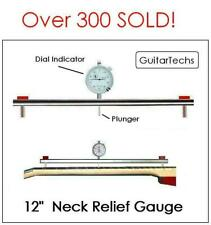 GuitarTechs Neck Relief (Curvature) Gauge for Guitar - Master Luthier Tool