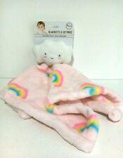 Blankets & And Beyond Pink Cloud Rainbow Comforter  Baby Comfort Blanket