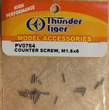 Thunder Tiger Counter Screw M1.6x6 (20 Screws) PV0764 New