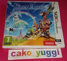 EVER OASIS NINTENDO 3DS NEUF SOUS BLISTER VERSION FRANCAISE