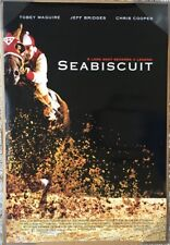 SEABISCUIT MOVIE POSTER 2 Sided ORIGINAL FINAL 27x40 TOBEY MAGUIRE