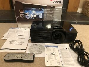 Optoma HD141X Home Cinema Full HD 3D 1080P Projector Boxed but Loud