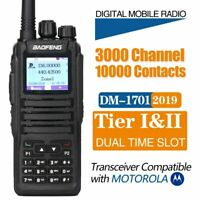Baofeng DM-1701 Walkie Talkie Dual Time Slot DMR Digital/Analog Compatible Moto