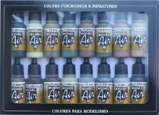 AV Acrylics model air 71180 WWII Allied Colours 16 x 17ml bottles