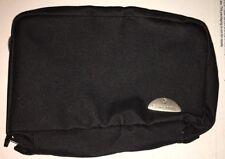 "New Open Box Samsonite Zippered Personal Travel Pouch Black 7 1/2"" x 5"""