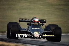 Mario Andretti JPS Lotus 79 British Grand Prix 1978 Photograph 2