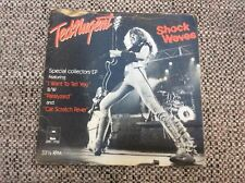 """7"""" Vinyl Ted Nugent Special Collectors 3 Track EP Shock Waves."""