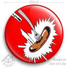 "Grange Hill SAUSAGE School Disco Fancy Dress Retro Kids TV 25mm 1"" Badge NEW"