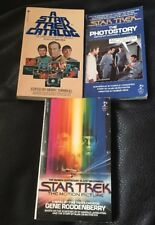 Rare Star Trek Lot Of 3 First Edition? Star Trek Books Paperbacks 1979 & 1980
