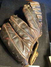 Vintage Rawlings Baseball Glove Leather Four Finger Right Handers Glove Nice