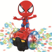 Hand Model Music Light Dance Robot Electric Universal Spiderman Balance Car Toy