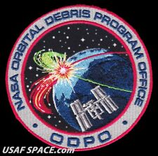 NASA JSC - ORBITAL DEBRIS PROGRAM OFFICE -ODPO- ORIGINAL AB Emblem SPACE PATCH