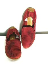 Merrell  Slip on Ballerina Flats  Women's Red Leather cushioned Shoes Size 8
