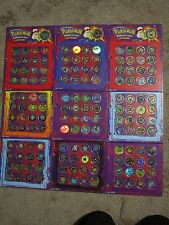 COMPLETE Pokedex Lot of Pokemon Battling coins. 1-150 in binder pages!        #2