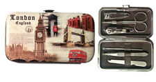 TOP NAIL CARE SET,  Professional Manicure Pedicure, Travel Grooming Kit GIFT