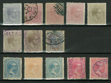 Philippines - Lot of Stamps - King Alfonso XII and 1890 King Alfonso XIII