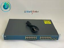 Cisco Catalyst WS-C3560-24PS-S • 24 Port 3560 PoE Switch ■ SAME DAY SHIPPING ■