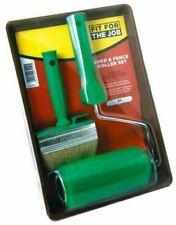 "FFJ Shed and Fence Roller Brush Kit Inc. 7"" Tray Frame Sleeve Block (FFJ7SFRK)"
